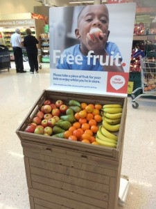 What Stores Have Free Fruit For Kids