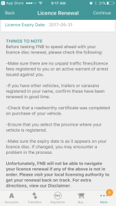 renew licence disk