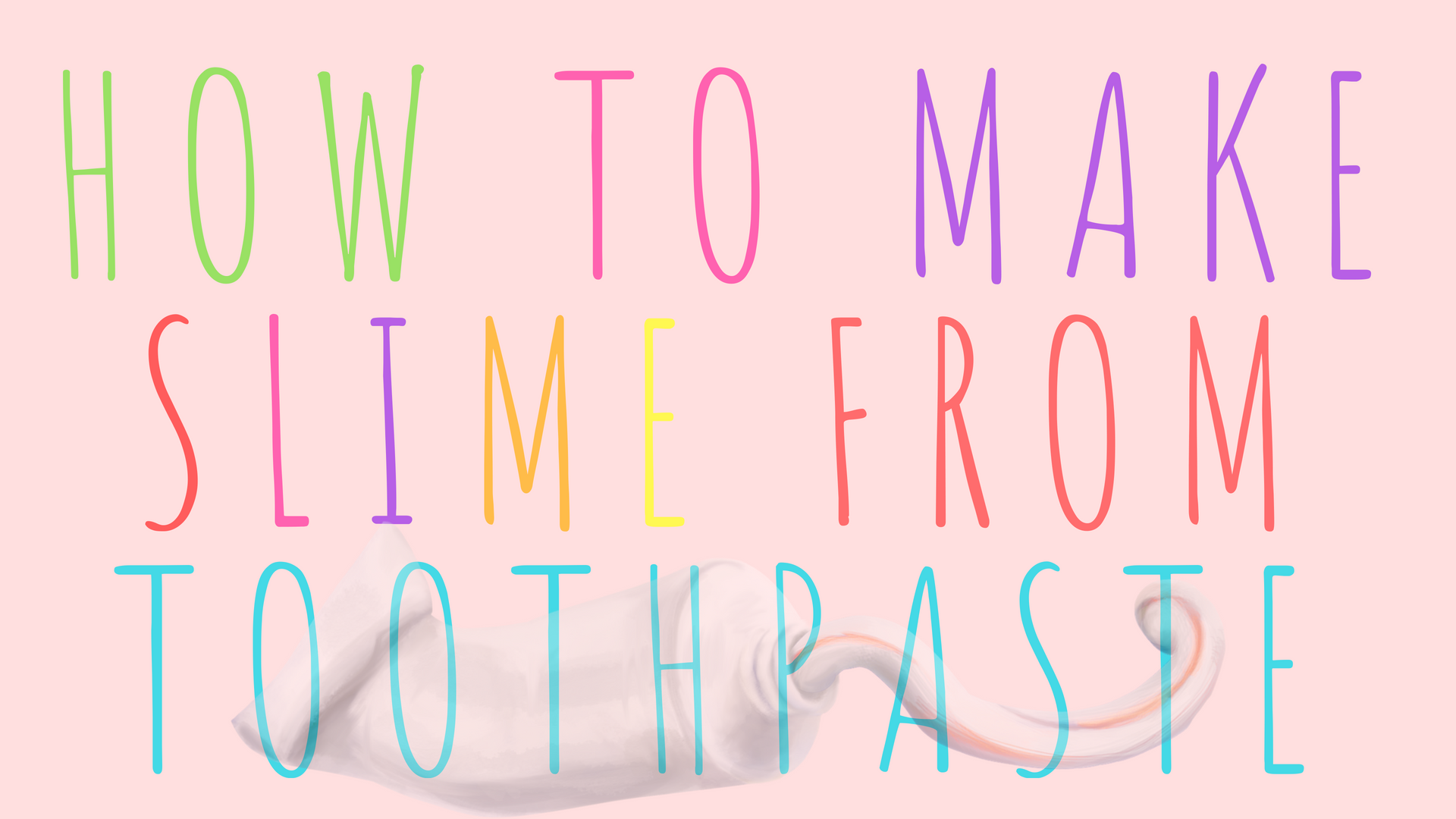 How to make slime from toothpaste busy moms how to make slime from toothpaste ccuart Image collections