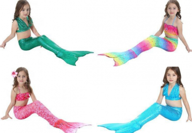 Mermaid Swimsuits With Tails For Girls