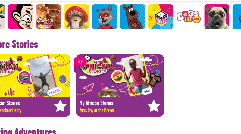 Africa shines with Boomerang's My African Stories series!